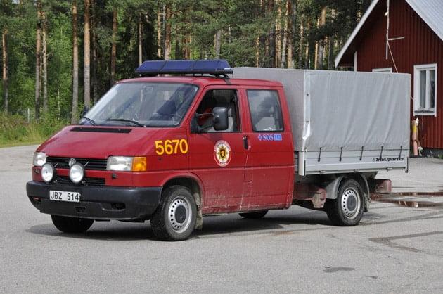 2 26-5670 Transportfordon VW Pick-up DH 2,5 Syncro -1997 Övrigt: Skogsbrandsutrustning