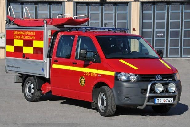 2 26-6070 Transportfordon / IVPA-bil VW Transporter -2012