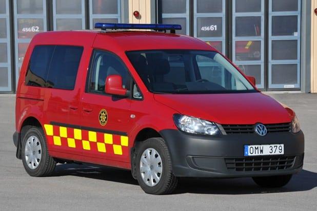 2 26-6xxx Transportfordon VW Caddy -2013 Saknar fast radio och är därför inte märkt med radionummer.