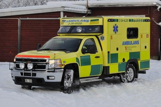 3 26-9320 Chevrolet CK 30903 -2013 Påbyggare: Ambulansproduktion i Sandviken AB