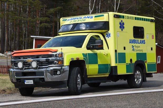 3 26-9120 Chevrolet K35903 -2015 Påbyggare: Ambulansproduktion i Sandviken AB