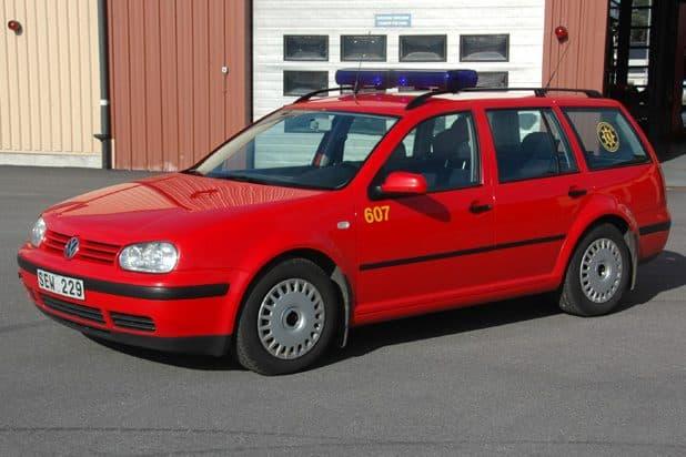 2 26-6077 Transportfordon VW Golf Variant -2000