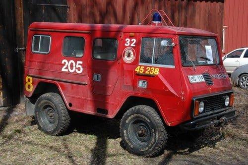 45 226 Terrängbil Volvo C 202 HT -1980
