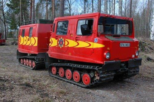 45 229 Bandvagn Hägglund BV206 -1980