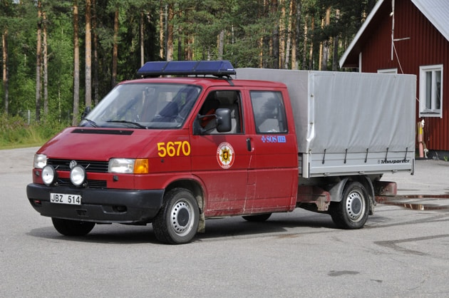 2 26-5670 Transportfordon VW Pick-up DH 2,5 Syncro -1997 Övrigt: Skogsbrandsutrustning