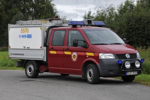 2 26-5570 IVPA / Transportfordon VW Transporter Syncro -2008 Övrigt: Skogsbrandsutrustning