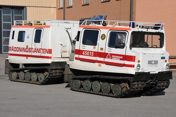 2 26-6055 Bandvagn Hägglunds Bandvagn – 1980
