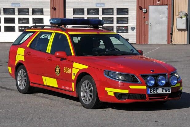 2 26-6080 Befäl -/ ledningsbil SAAB 9-5 Linear -2007 Övrigt: Används över hela förbundet beroende på vart aktuell BiB* är stationerad. *(Befäl i Beredskap)