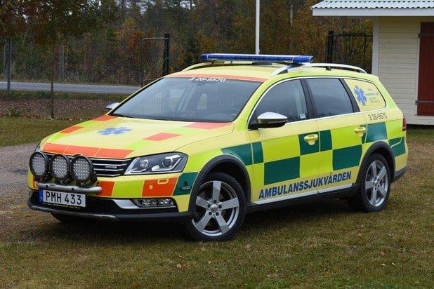 3 26-9570 Bedömningsbil (First Responder Unit) VW Passat -2014 Påbyggare: E-Com