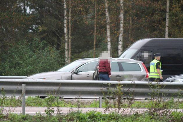 Trafikolycka E4 Gävle Xnytt