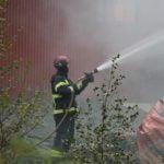 Ladugårdsbrand strömbacka Ockelbo Xnytt