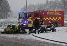 Mopedolycka Hallasen Soderhamn Xnytt