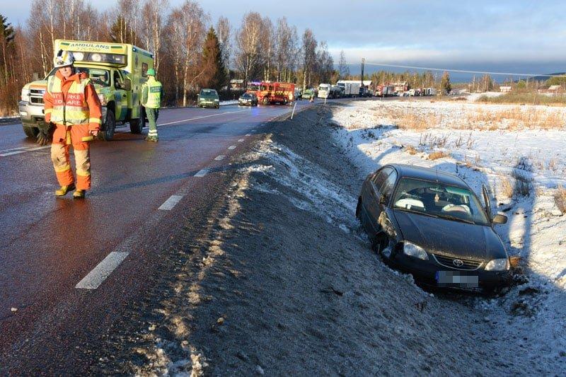 Trafikolycka Kilafors Xnytt