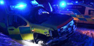 Trafikolycka Ambulans Xnytt