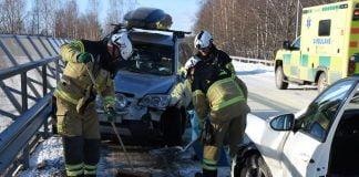 Trafikolycka Marmaverken