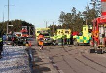Trafikolycka 583 Xnytt Bjorke Trodje