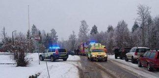 Trafikolycka Idenor Xnytt