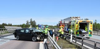 Singelolycka E4 Soderhamn Styvje Xnytt