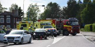 Trafikolycka Glossbo Xnytt