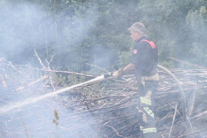 Skogsbrand Gavle Xnytt