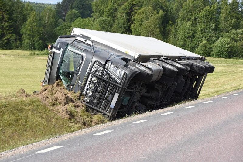 Lastbilsolycka Glossbo Xnytt
