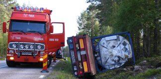 Lastbilsolycka Vallvik Xnytt