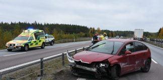Trafikolycka E4 Alebo Xnytt