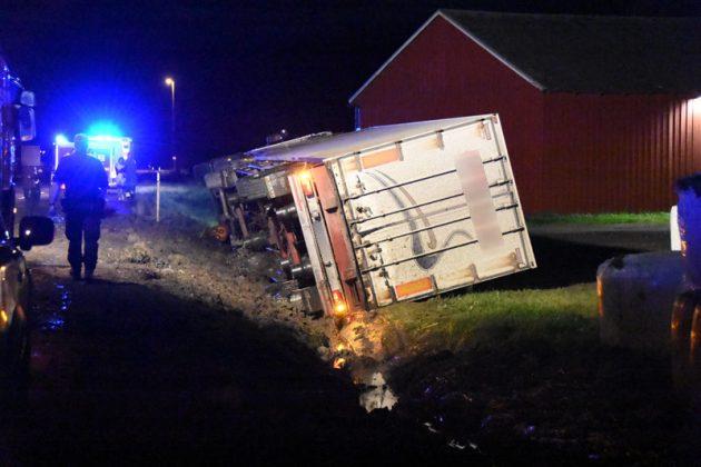 Lastbilsolycka Kilafors Xnytt