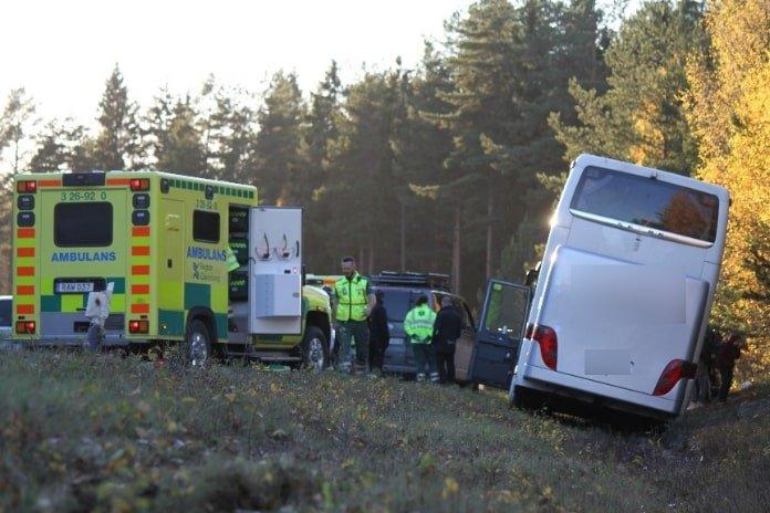 Bussolycka Gavle Xnytt